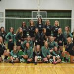 Clover Volleyball Grabs First Win!