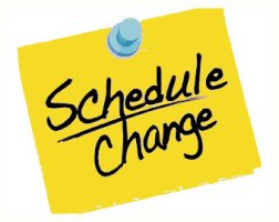 More Athletic Schedule Changes…