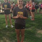 Karen Aros takes 3rd place at Turner Invitational
