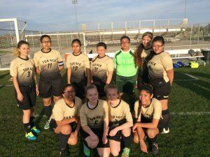 First Turner Girls' Varsity Soccer Match