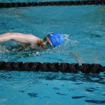 Beery Wins 50 Free, Breaks 100 Fly Record at WYCO