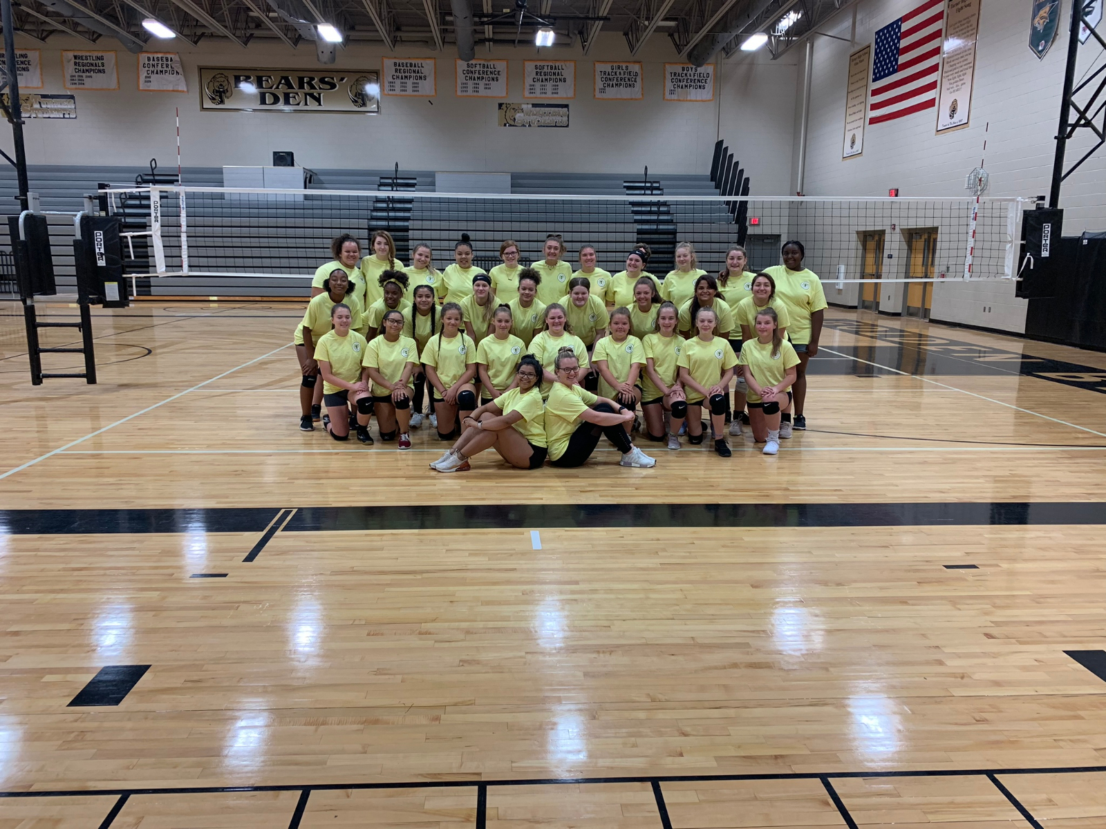 Lady Bear Volleyball Camp