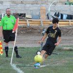 BOYS SOCCER POSTS 1-0 WIN AT Leavenworth