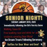 Girls Basketball Senior night!