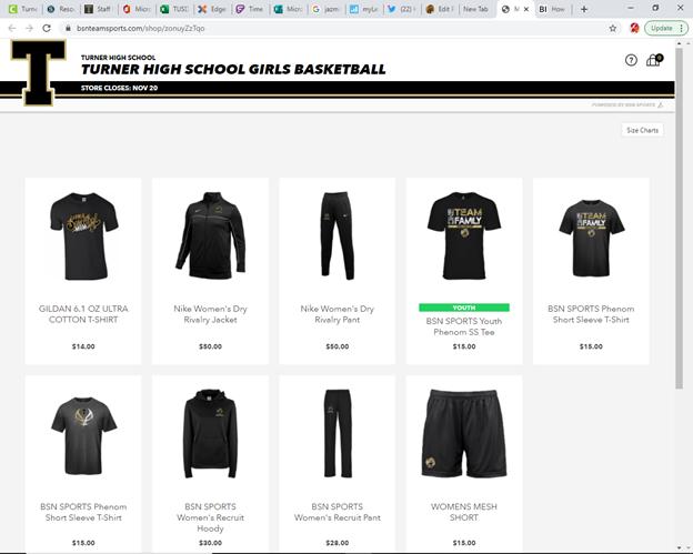 Girls Basketball Team Store