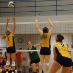 Delta High School Volleyball JV beats Greenfield-Central High School 2-1