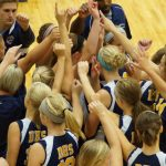 Delta High School Volleyball Varsity beats Greenfield-Central High School 3-1