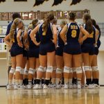 Delta High School Volleyball Varsity beats Daleville High School 3-0