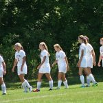 Delta High School Soccer Varsity Girls falls to Muncie Central High School 2-3