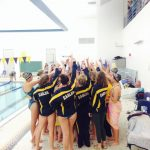 Girls Swimming Competes at Sectional Preliminaries