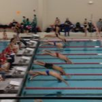 Swimming & Diving Falls to Mt. Vernon in HHC Action