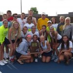 Tennis Team Moves on to Semi-State