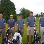 Boys Golf Places 2nd at Sectional