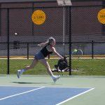 Eagles Blank Owls in Tennis