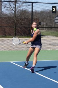 GIRLS TENNIS Greenfield and Eagle Round Robin 2016