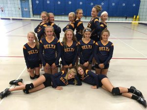DMS 6th Grade Volleyball 2016