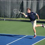 Tennis Team Beats Another State-Ranked Opponent