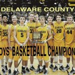 Varsity Boys Basketball defeats Wes-Del 60-50 to win the County Championship!