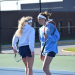 Doubles players talk strategy
