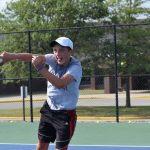 Tennis Team Rolls to Big Win over Yorktown