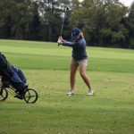 Girls Golf Action
