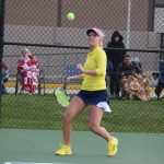 Girls Varsity Tennis beats Muncie Burris 4 – 1