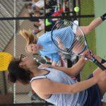 Girls Varsity Tennis beats New Palestine 5 – 0
