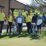 Eagles Golf Tames Golden Bears