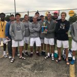Tennis Team Defeats Previously Unbeaten Richmond to Win Invite