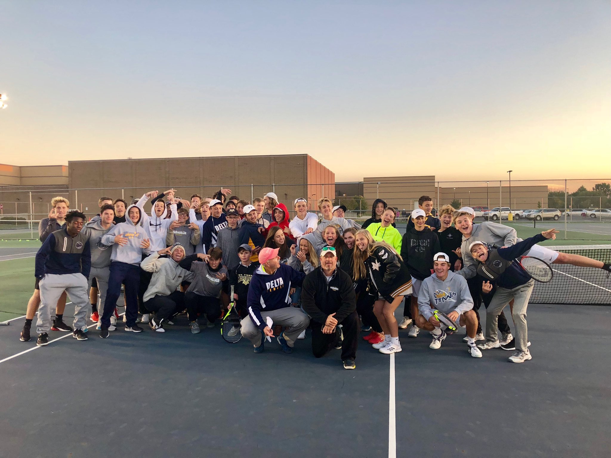Eagles Clinch Another HHC Tennis Title