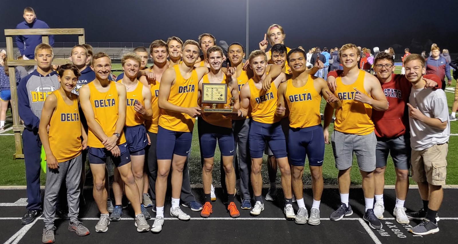 Boys Track Wins 3rd County in a Row