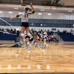 Girls Varsity Volleyball beats Daleville 3 – 0
