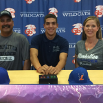 Larry Santos Signs with Manhattan Christian University