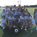 Girls JV Soccer – CCISD Tournament Champs
