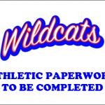 2019-2020 Athletic Paperwork