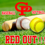 "Softball/Baseball ""RED OUT"" Friday"
