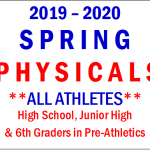 2019 Spring Physicals Information
