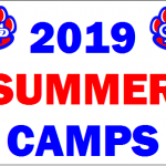 2019 Summer Camp Information