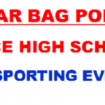 Alice- Clear Bag Policy for ALL SPORTING EVENTS
