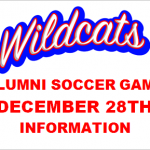 2019 Alumni Soccer Game Information