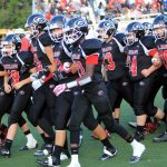 Girard High School Varsity Football falls to Niles Mckinley High School 41-50