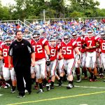Girard High School Varsity Football falls to Hubbard High School 7-55