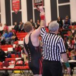 Girard High School Boys Varsity Wrestling beat Jackson-Milton Local High School 60-17