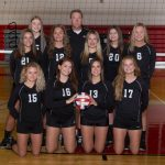 Girard High School Girls Varsity Volleyball beat Struthers High School 3-1
