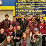Ludlow High School Boys Varsity Wrestling finishes 2nd place