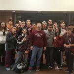 Ludlow High School Boys Varsity Wrestling beat Franklin County Technical School 41-36
