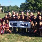 Ludlow Girls' Soccer Participates In Autism Speaks Walk