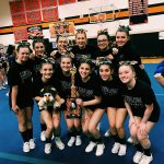Cheerleading takes 2nd
