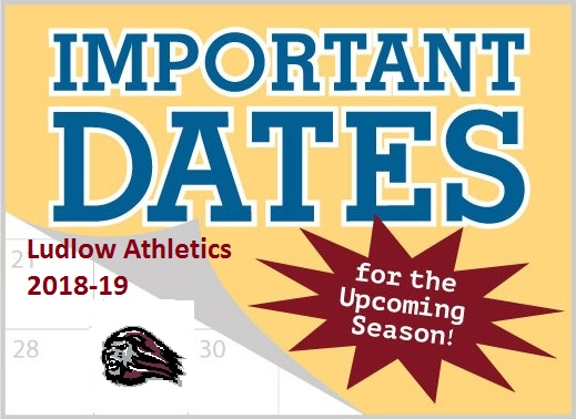 2018 Fall Important Sport Dates and Times