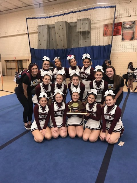 Cheerleaders D3 WMass Champions